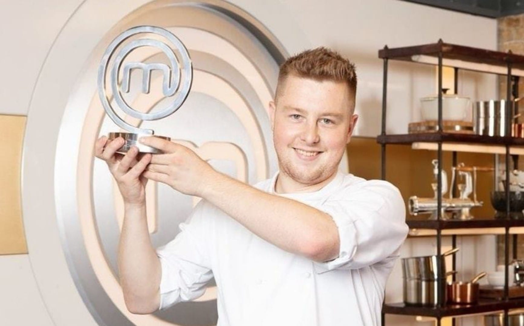 Alex Webb, the winner of Masterchef: The Professionals 2020