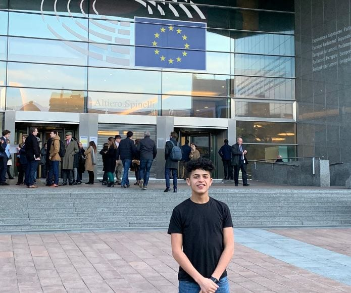 Sixth Form student experiences brexit day first hand