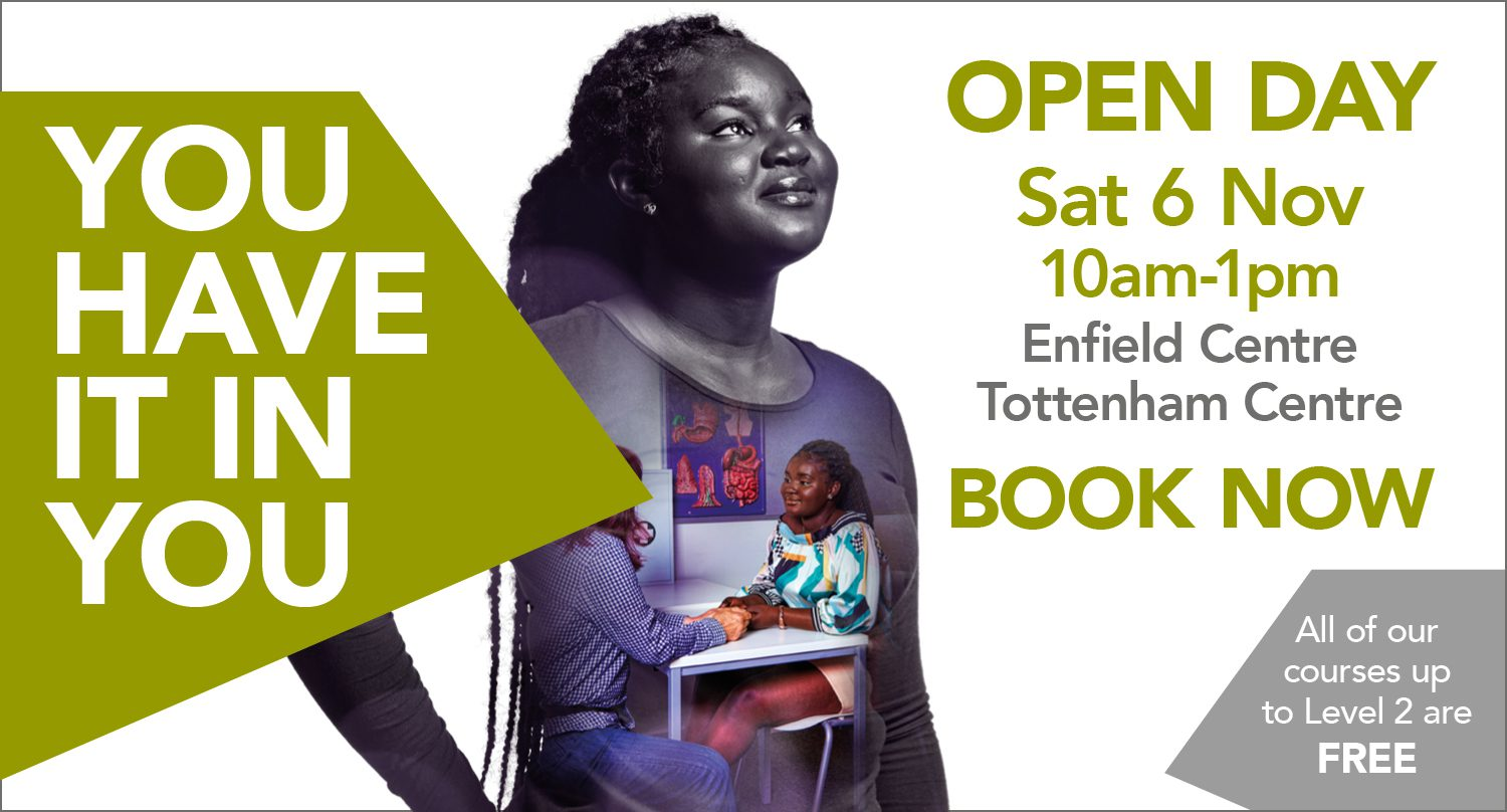 The College of Haringey, Enfield and North East London open day