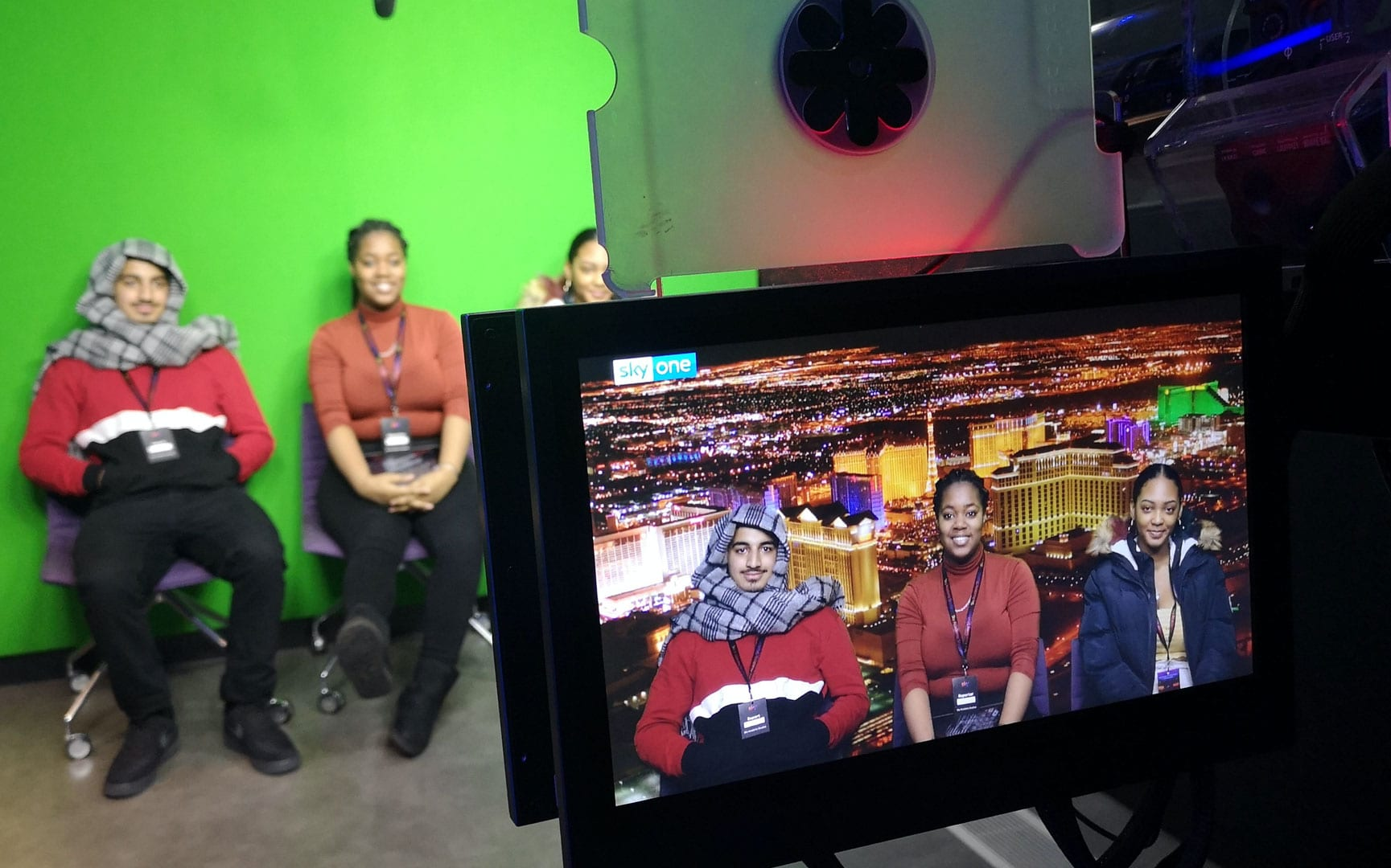 Media Students Visit Sky Academy Studios