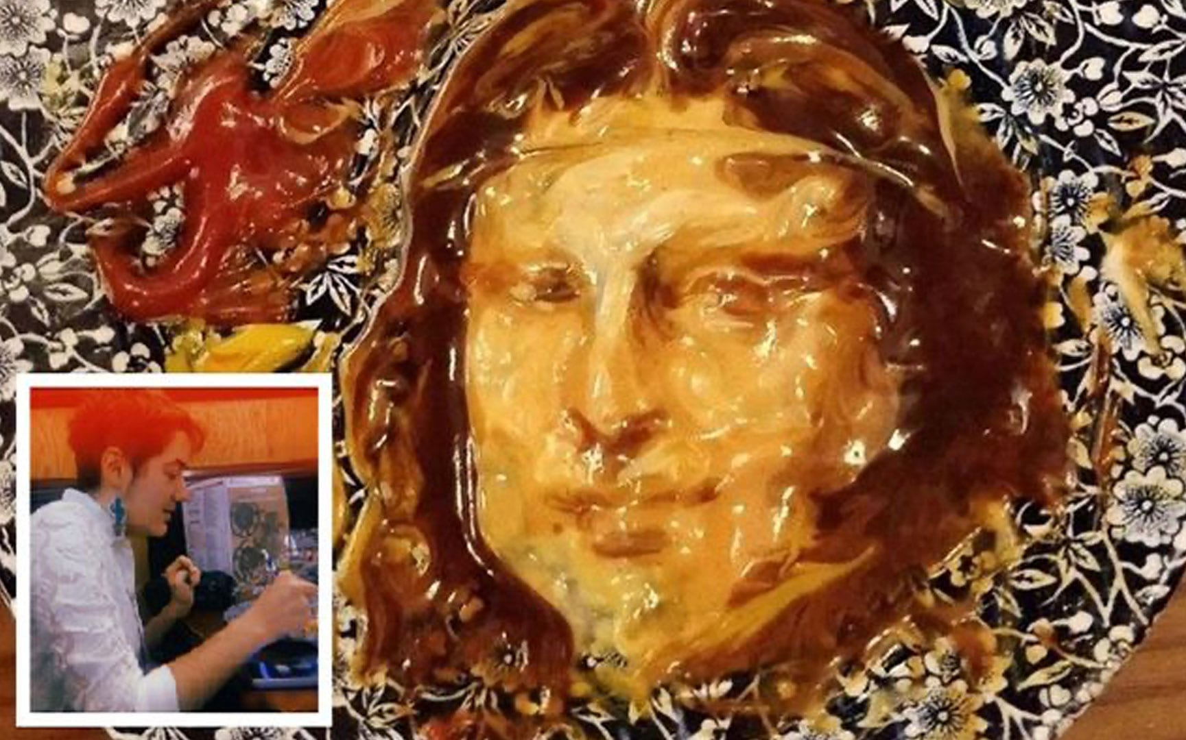 Molly's sauce Mona Lisa